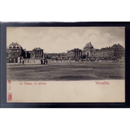 Carte postale 78 - Versailles - Le chateau - vue generale - Non voyage - Dos non divise