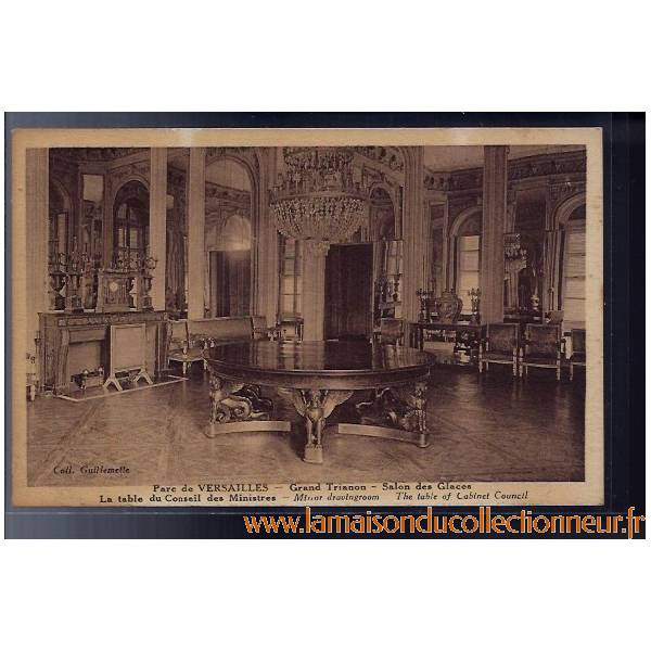 Carte postale 78 parc de versailles grand trianon for Salon carte postale
