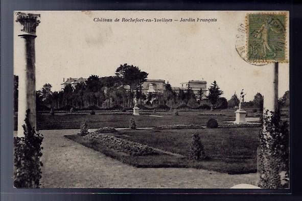 Carte Postale 78 Rochefort En Yvelines Le Chateau Jardin