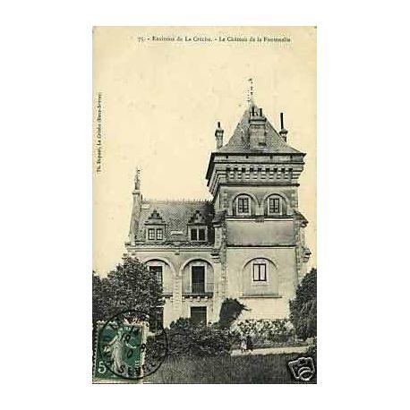 79 - Env. de La Creche - Chateau de la Fontenelle