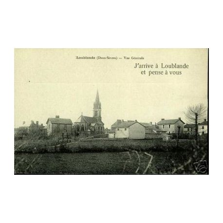 79 - LOUBLANDE - VUE GENERAL