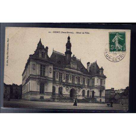 79 - Niort - Hotel de Ville - Voyage - Dos divise