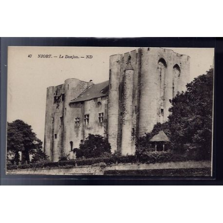 79 - Niort - le Donjon - Non voyage - Dos divise