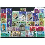 Gilbert Sammlung Von gestempelt Briefmarken