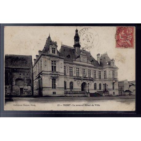 79 - Niort - le nouvel Hotel de Ville - Voyage - Dos divise
