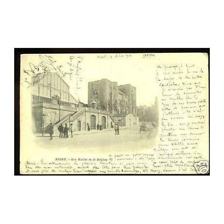 79 - Niort - Les halles et le Donjon