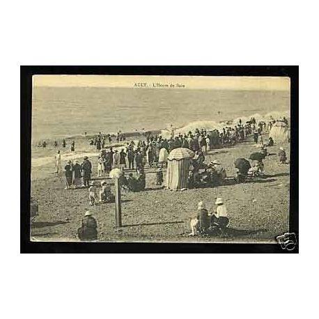 Carte postale 80 - Ault - L'Heure du Bain