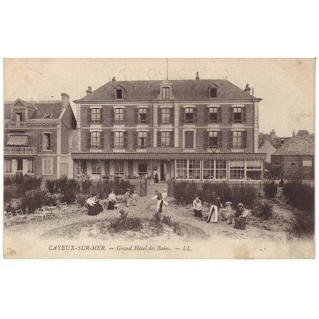 Carte postale 80 - Cayeux sur Mer - Grand hotel des bains