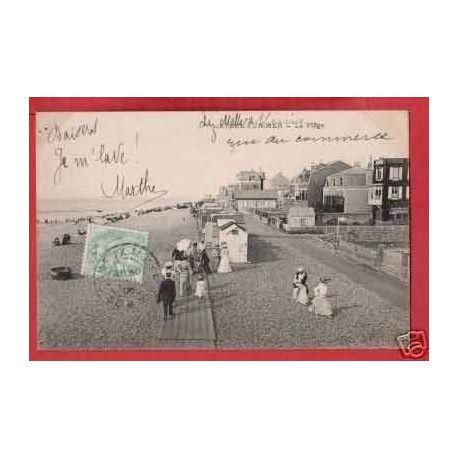 Carte postale 80 - CAYEUX SUR MER - LA PLAGE - ANIMEE