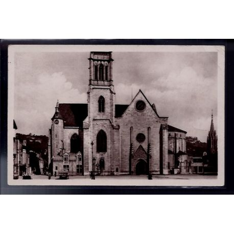 Carte postale 81 - Agen - la Cathedrale - Voyage - Dos divise