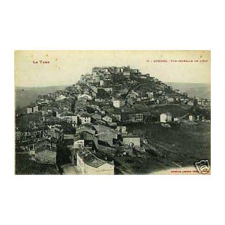 Carte postale 81 - Cordes - Vue generale de l'Est