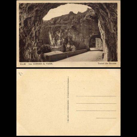 Carte postale 81 - Gorges du Tarn - Tunnel des Baumes