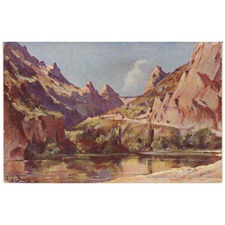 Carte postale 81 - Les gorges du Tarn - Couronnement du detroit