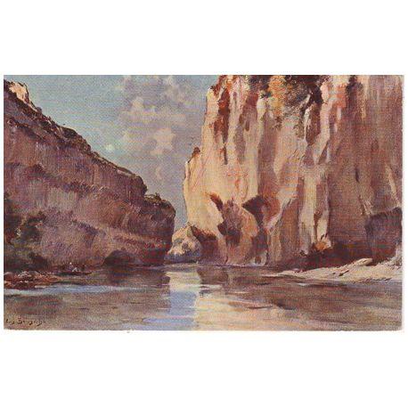 Carte postale 81 - Les gorges du Tarn - Le detroit