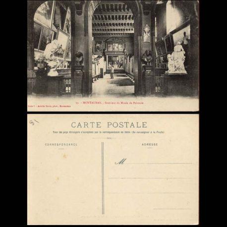Carte postale 81 - Montauban - Interieur du musee de Peinture