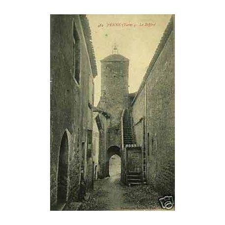 Carte postale 81 - Penne - Le Beffroi