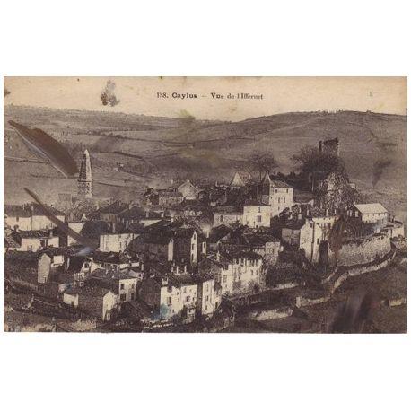 82 - Caylus - Vue de l'Iffernet
