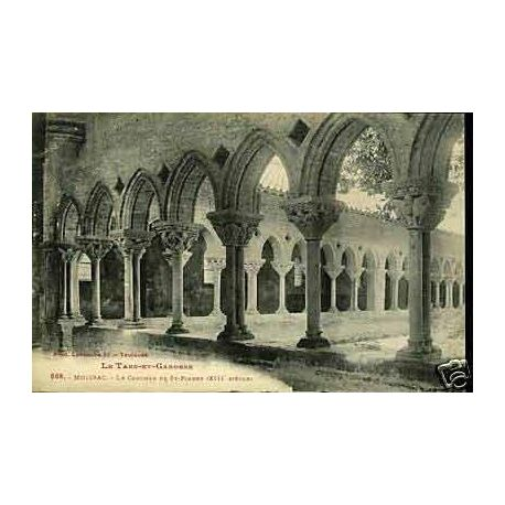 Carte postale 82 - Moissac - Le clocher de St-Pierre