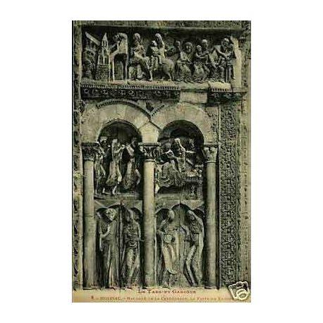 82 - Moissac -Bas cote de la cathedrale Fuite en Egypte