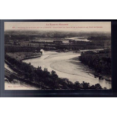 82 - Moissac et St Nicolas-de-la-Grave - Confluent du Tarn et de la Garonne