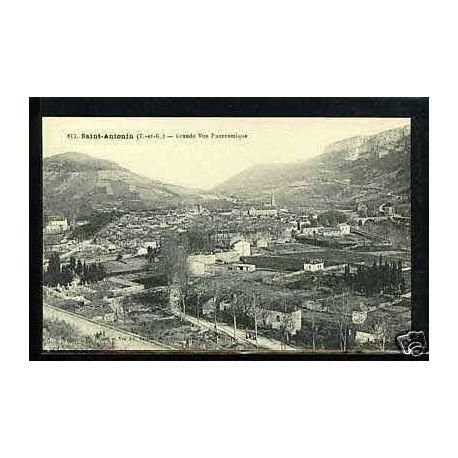 82 - Saint-Antonin - Grande vue panoramique