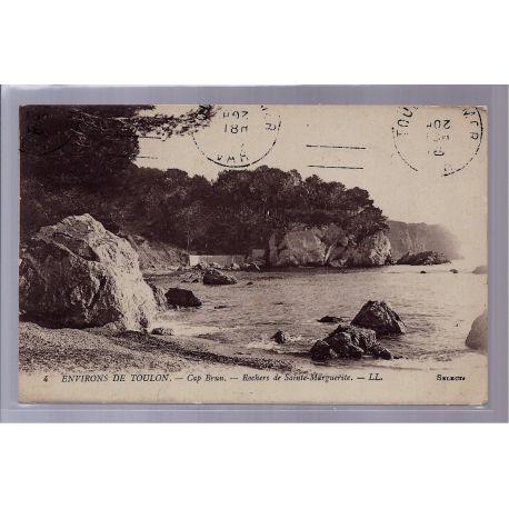 83 - Environs de Toulon - Cap Brun - Rochers de Sainte-Marguerite - Voyage
