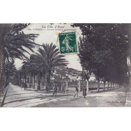 83 - Hyeres - Avenues Victoria et Costebelle