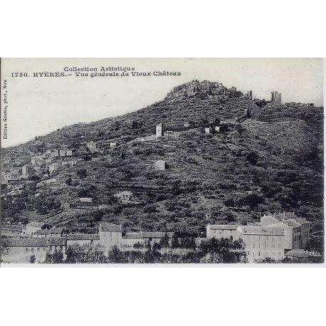 83 - Hyeres - Vue generale du vieux chateau