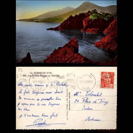 83 - La corniche d'Or - Les roches rouges au Trayas