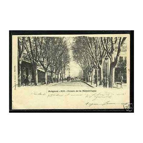 84 - Avignon - Cours de la republique