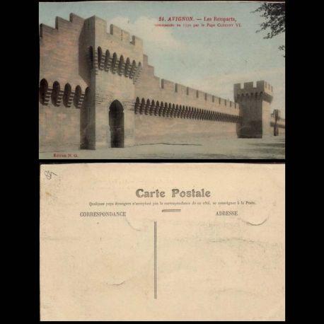 84 - Avignon - Les remparts