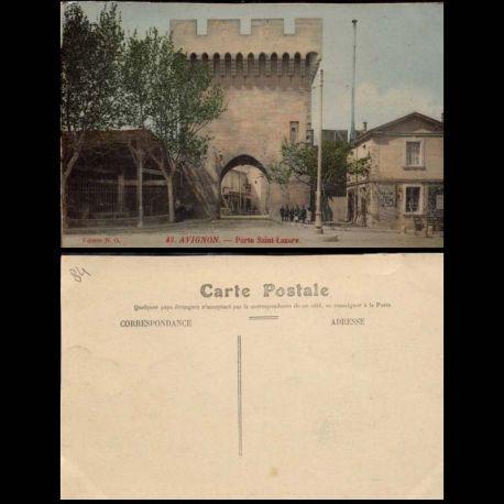 84 - Avignon - Porte Saint Lazare