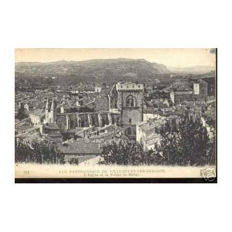 84 - VUE GENERALE PANORAMIQUE DE VILLENEUVE LES AVIGNON