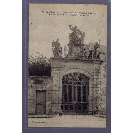 85 - Fontenay-le-Comte - Hotel de Villeneuve-Esclapon - ancien Hotel Pichar