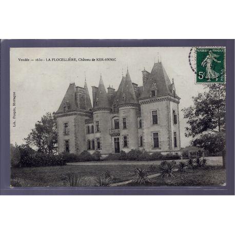 85 - La Flocelliere - chateau de Ker-Ennic - Voyage - Dos divise