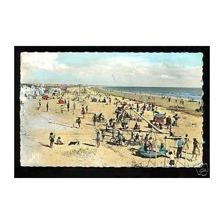 85 - Saint-Jean-de-Monts - La plage - CPSM