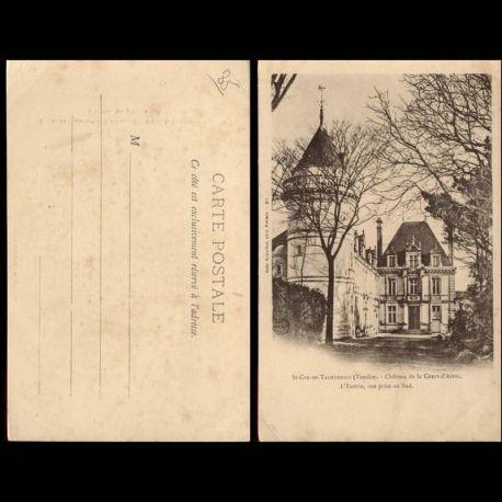 85 - St Cyr en Talmondais - Chateau de la Cour d'Aron