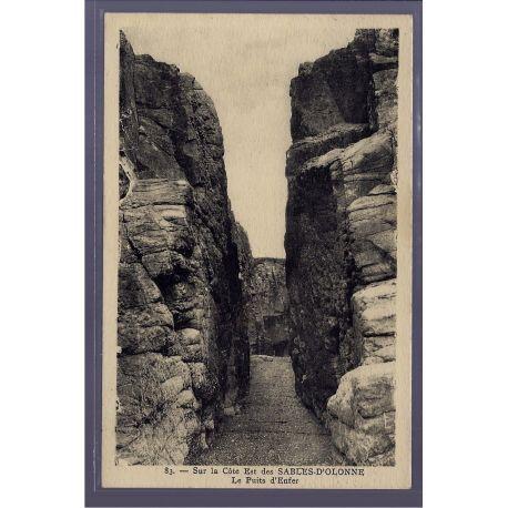 85 - Sur la cote Est des Sables-d 'Olonne - Le puits d' enfer - Voyage - Do