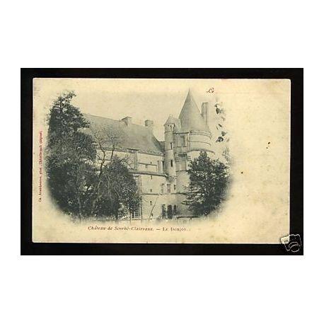 86 - Chateau de scorbe-Clairvaux -Carte de Maison Opter