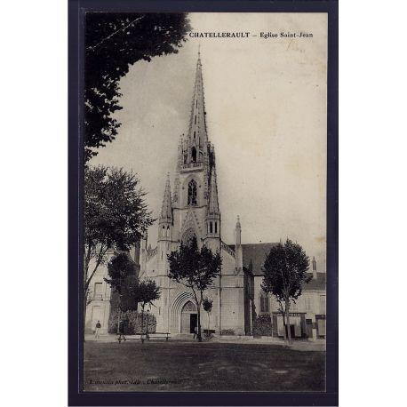 86 - Chatellerault - Eglise St-Jean - Voyage - Dos divise