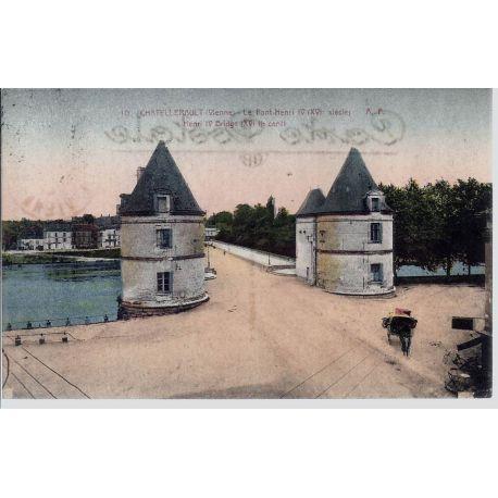 86 - Chatellerault - Le pont Henri IV