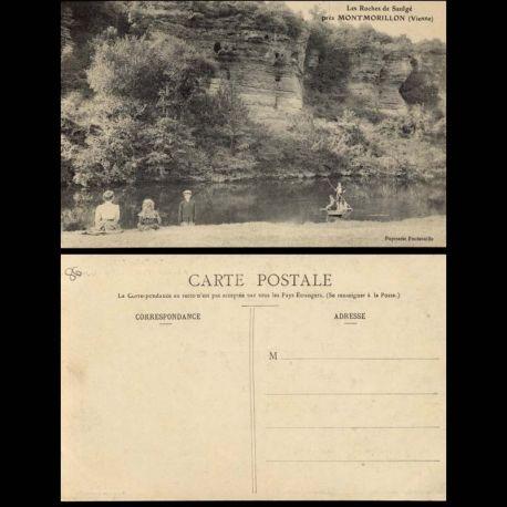 86 - Les roches de Saulge pres Montmorillon
