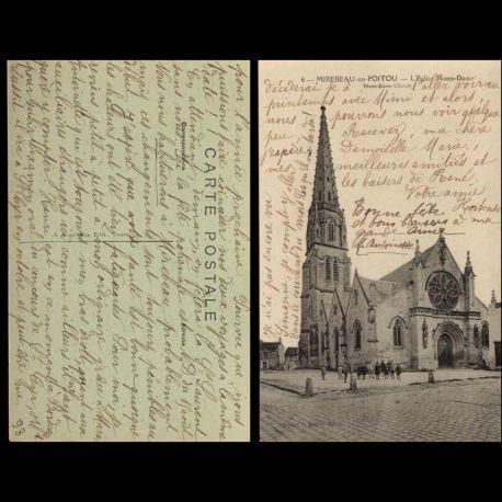 86 - Mirebeau en Poitou - L'Eglise Notre dame