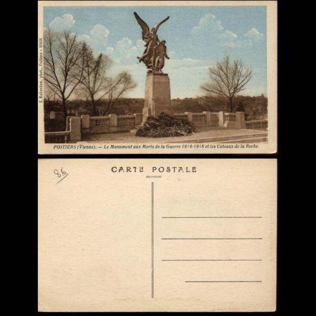86 - Poitiers - Monument aux morts