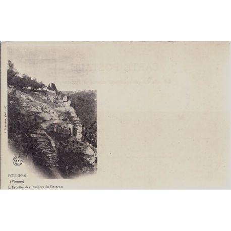 86 - Poitiers - Rochers du Porteau-Dos non divise