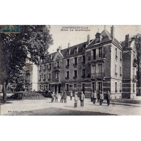 Carte postale 88 - Contexeville - Hotel La Souveraine