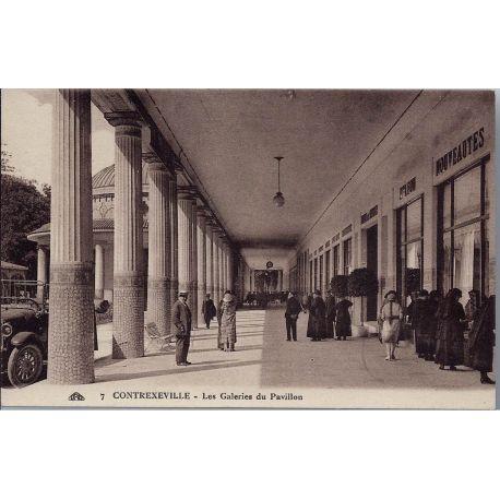 Carte postale 88 - Contexeville - Les galeries du pavillon