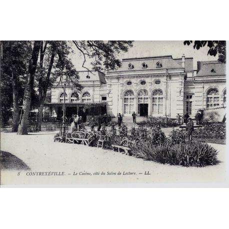 Carte postale 88 - Contrexeville cote du salon de lecture