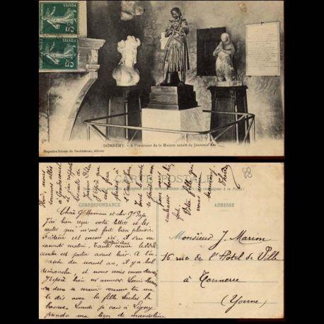 Carte postale 88 - Domremy - A l'interieur de la Maison natale de Jeanne d'Arc