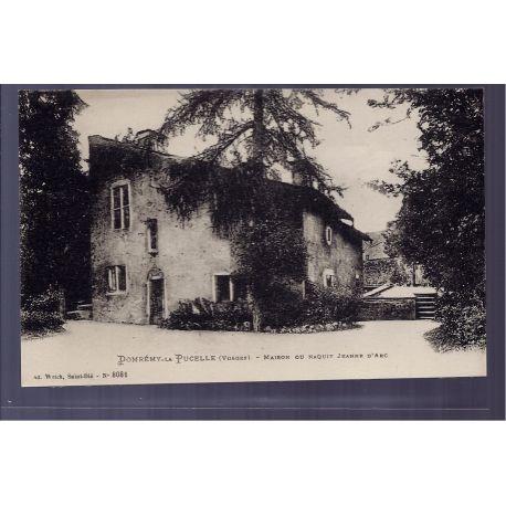 Carte postale 88 - Domremy-la-Pucelle - Maison ou Naquit Jeanne d' Arc - Non voyage - Dos